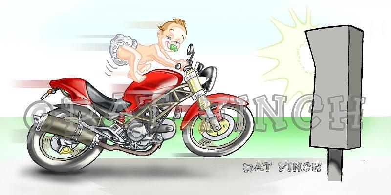 Bébé & Ducati