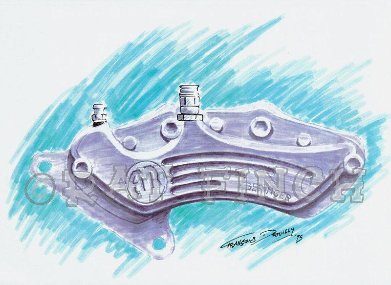 Etrier AMR-Beringer