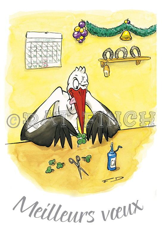 Cigogne Noël 06