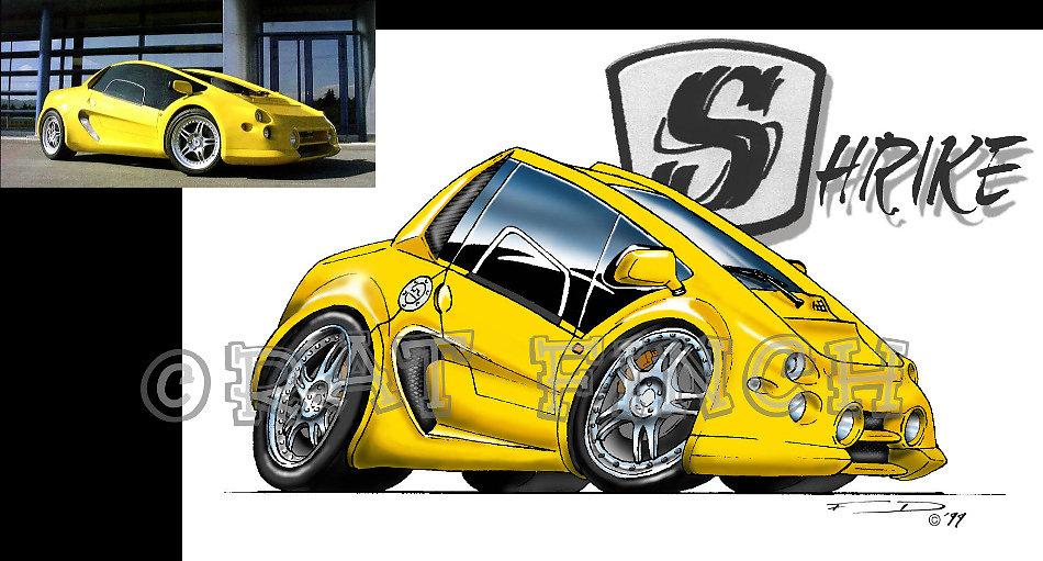 Shrike Car