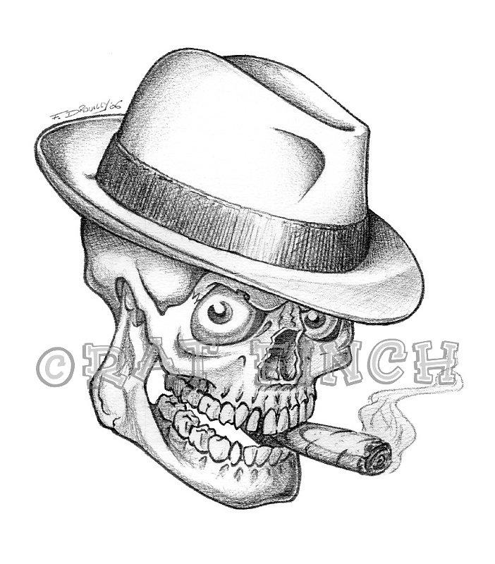 Borsalino Skull