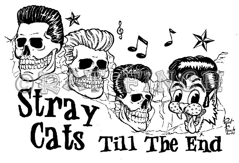 Stray Cats Till The End