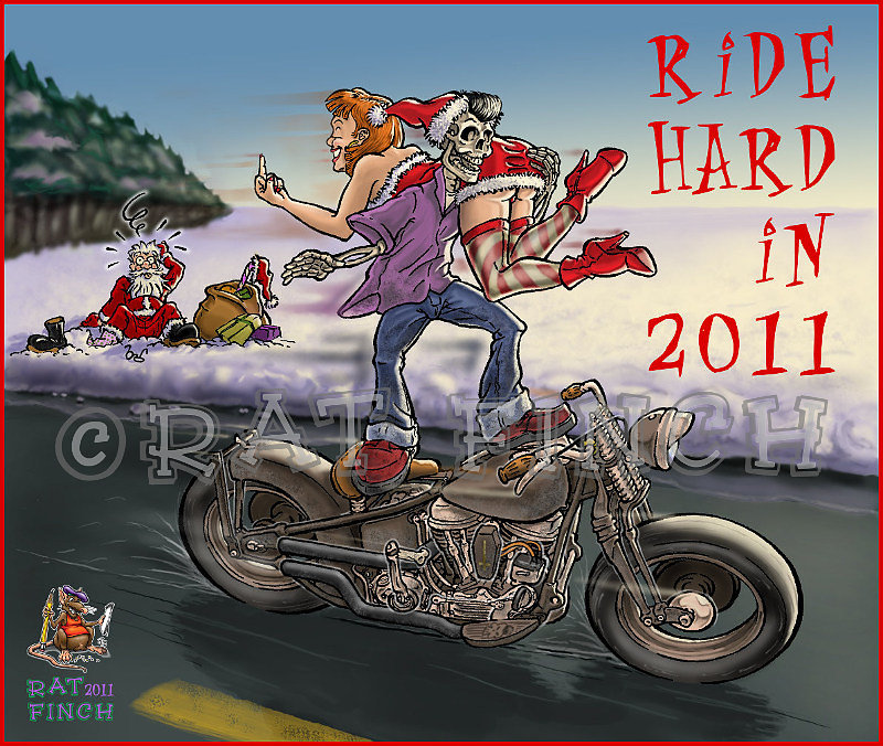 Ride Hard for New Year
