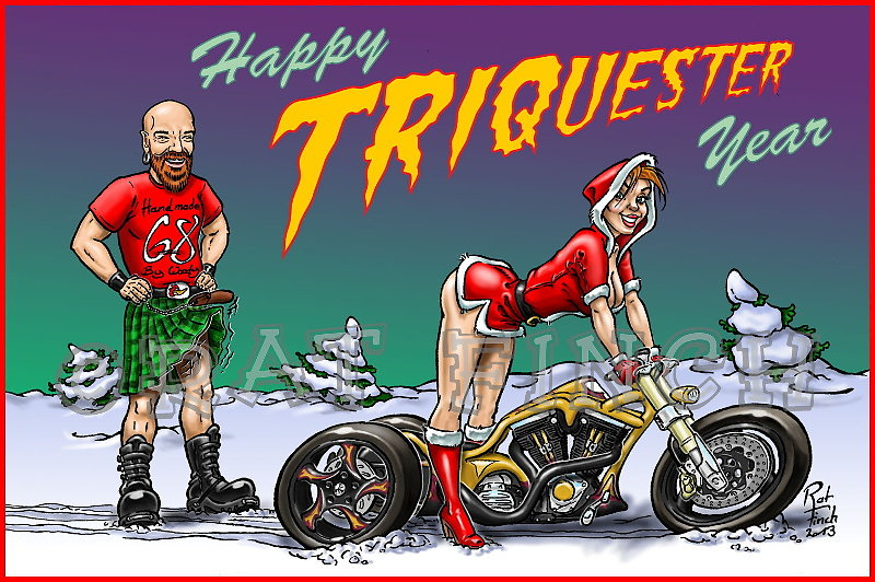 Happy Triquester Year !