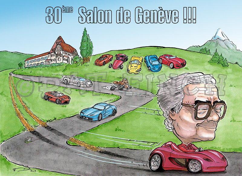 Sbarro 30ème Salon de Genève