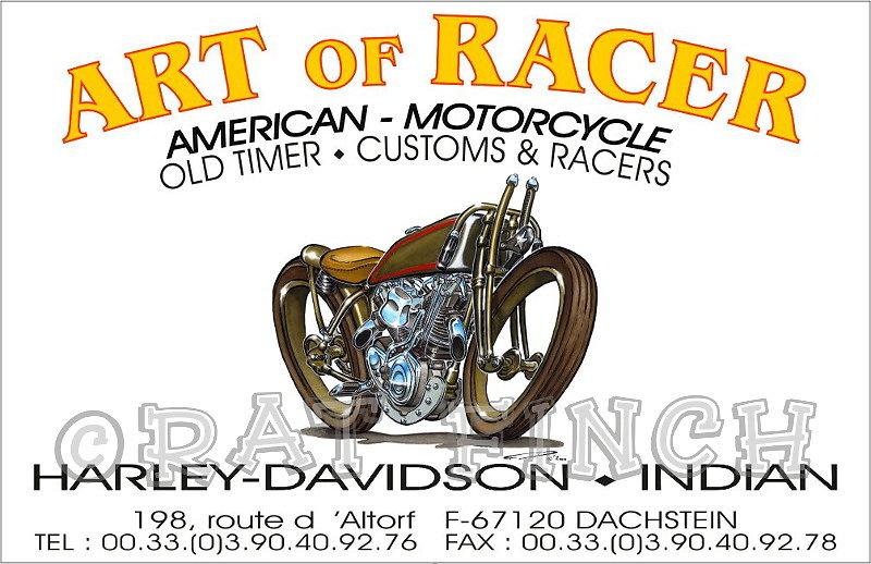 Art Of Racer Carte de visite