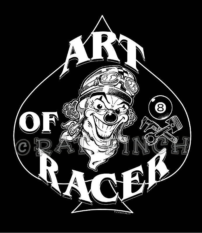 Art Of Racer Clown