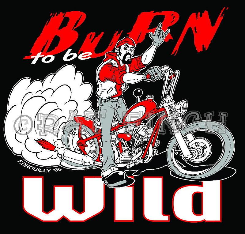 Burn  be Wild