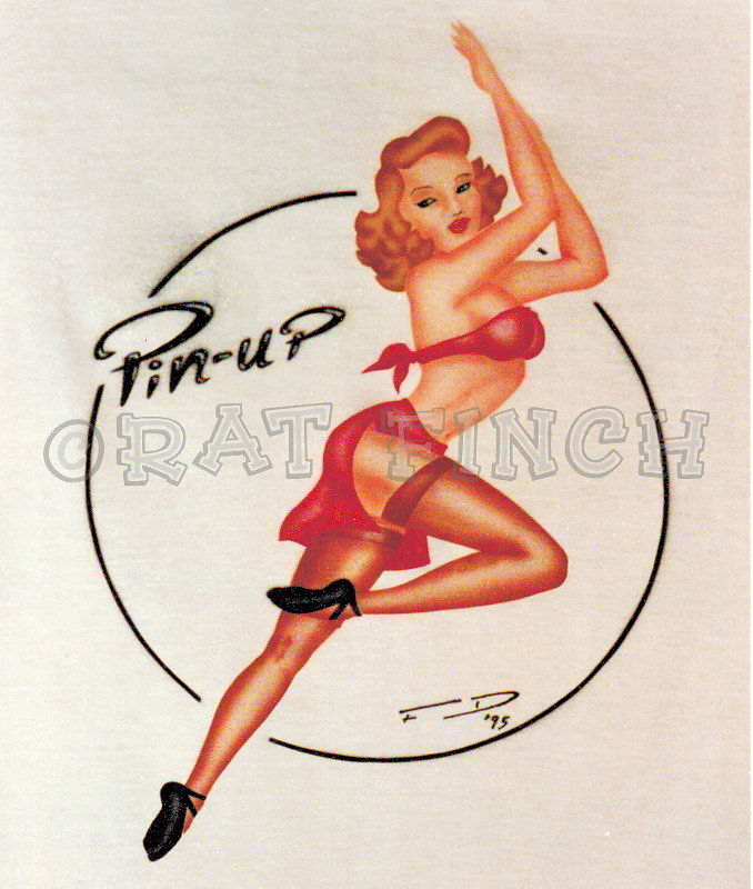 T-Shirt Pin-up