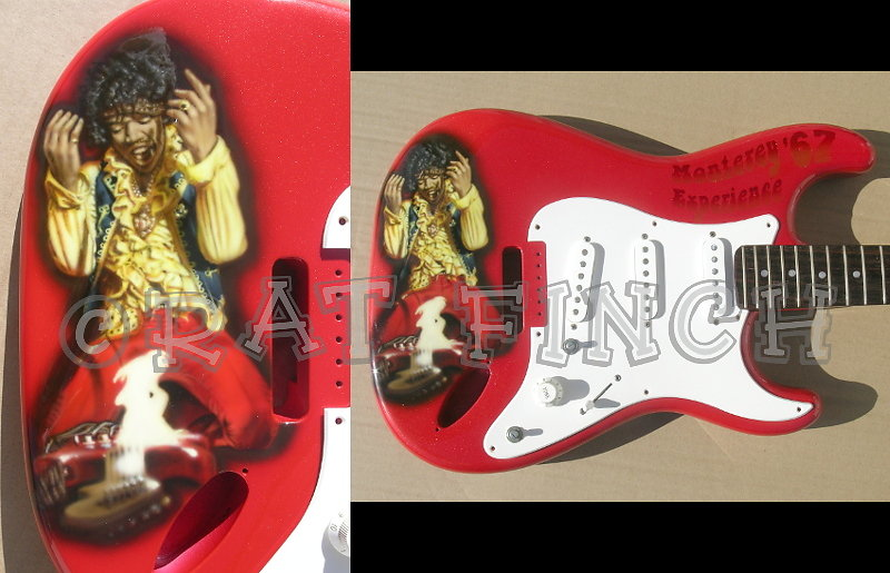 Guitare Hendrix