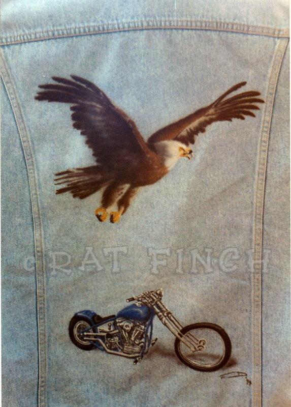 Veste Eagle & Chopper