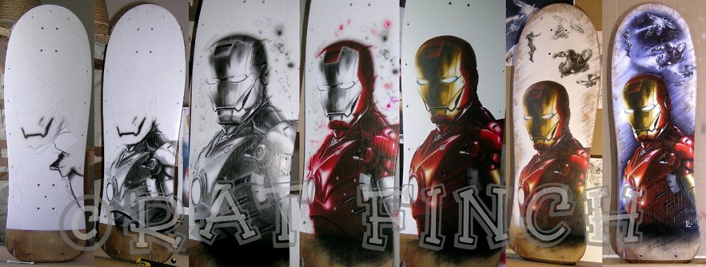 Ironman - Etapes