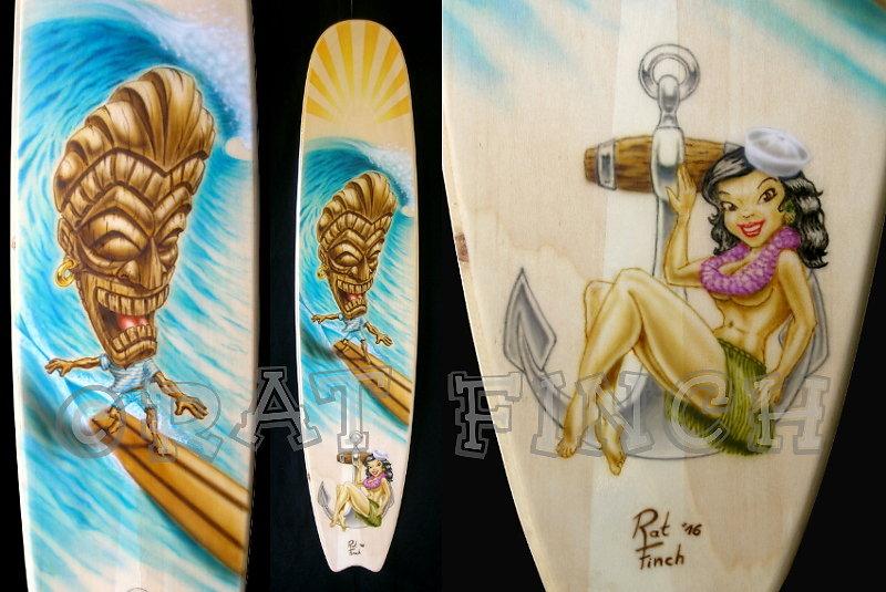 Surfing Tiki & Hula